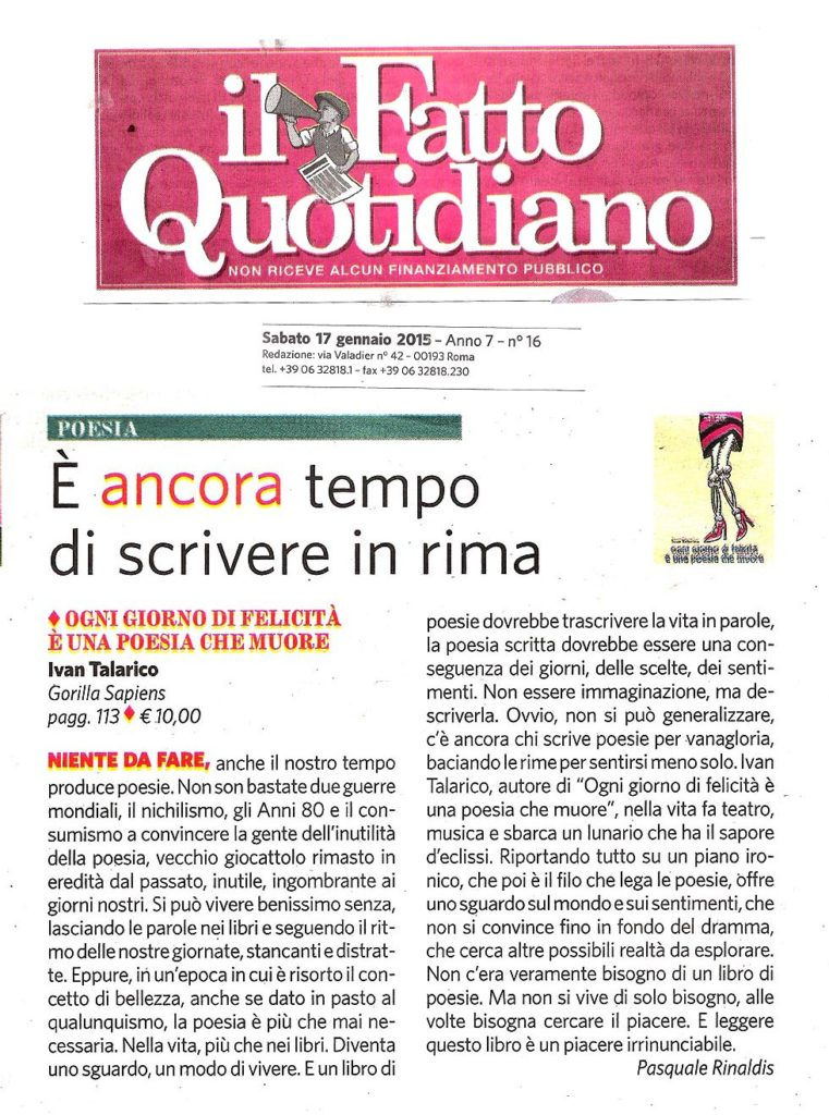 Il fatto quotidiano lq